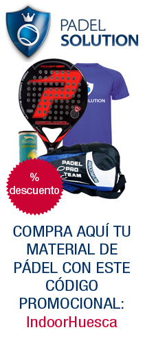 banner padel solution indoor huesca