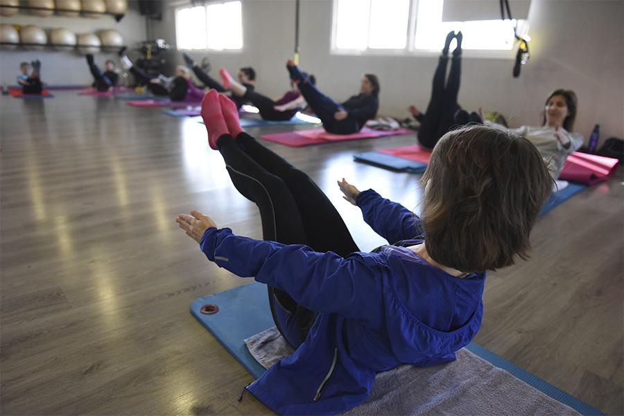 Clases de Pilates Indoor Hueca