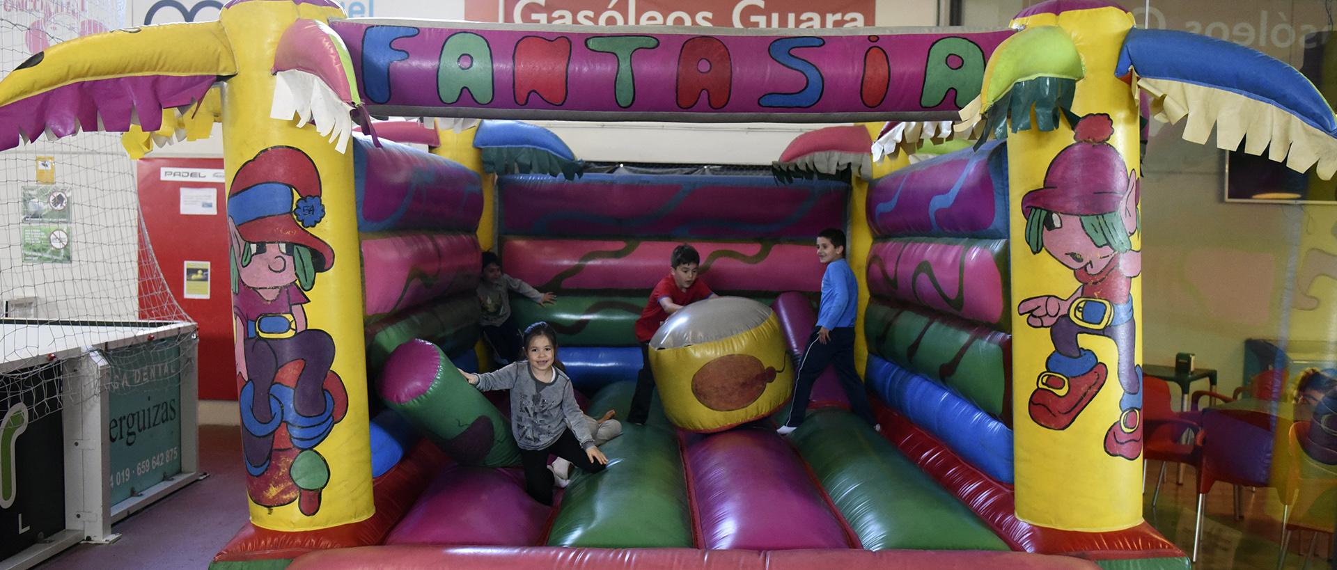 Cumples diferentes en Indoor Huesca