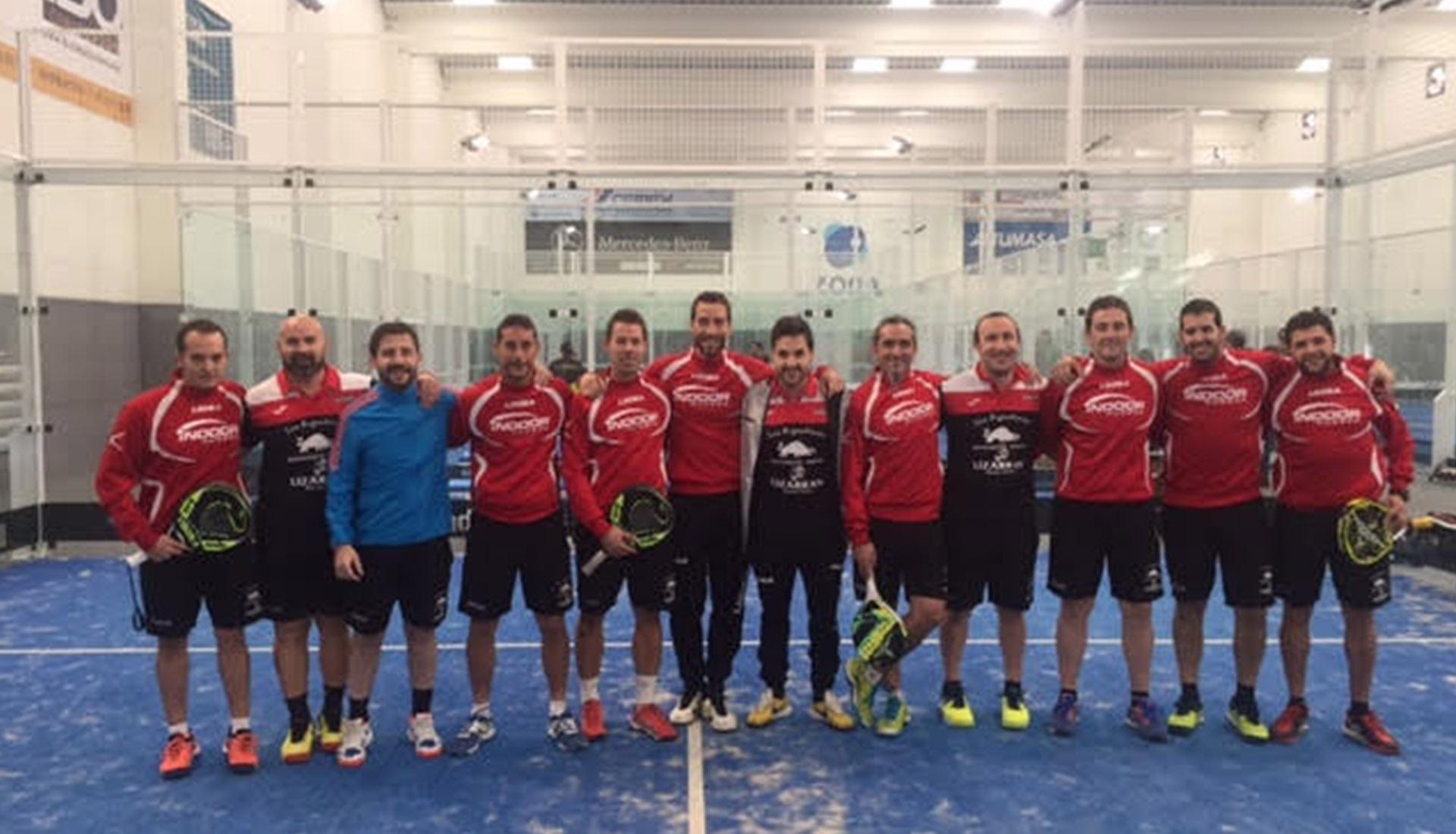 Equipo A Padel Indoor Huesca