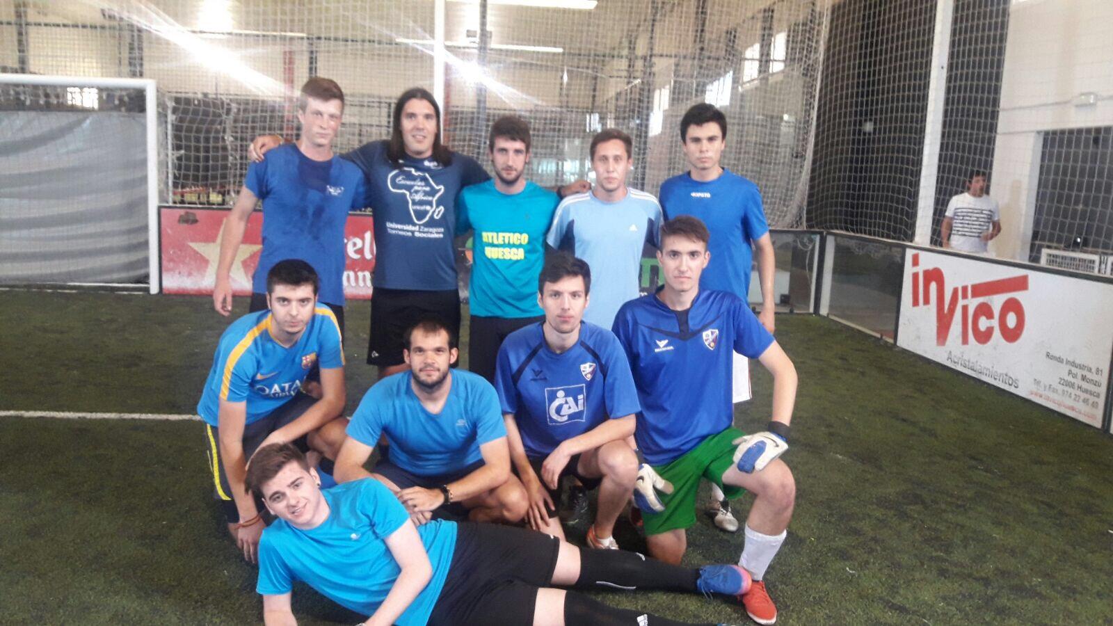 Campeonato de Aragon de Futbol Indoor en Huesca