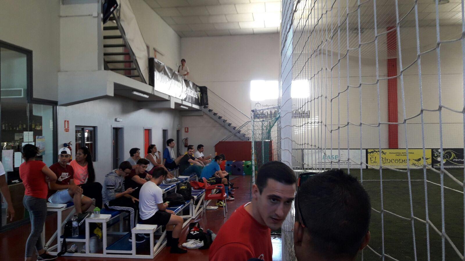 ambiente campeonato futbol indoor