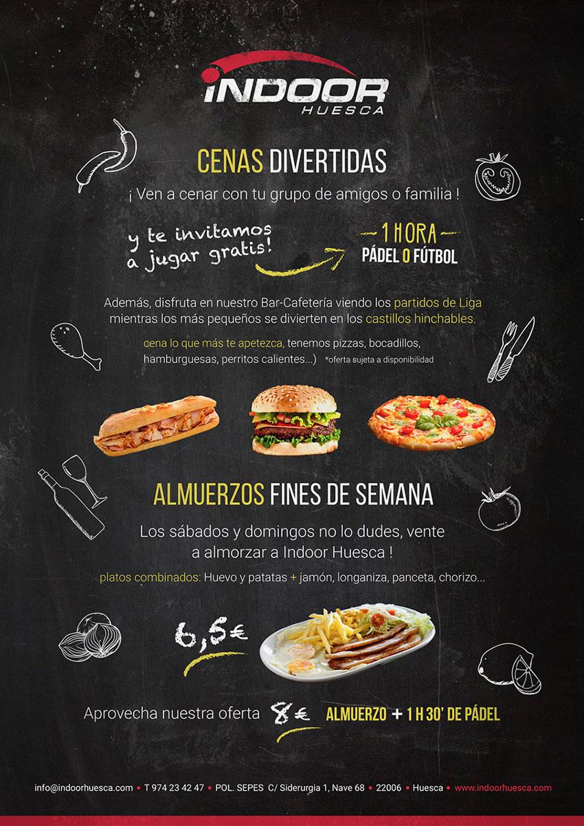 Cenas Divertidas Indoor Huesca